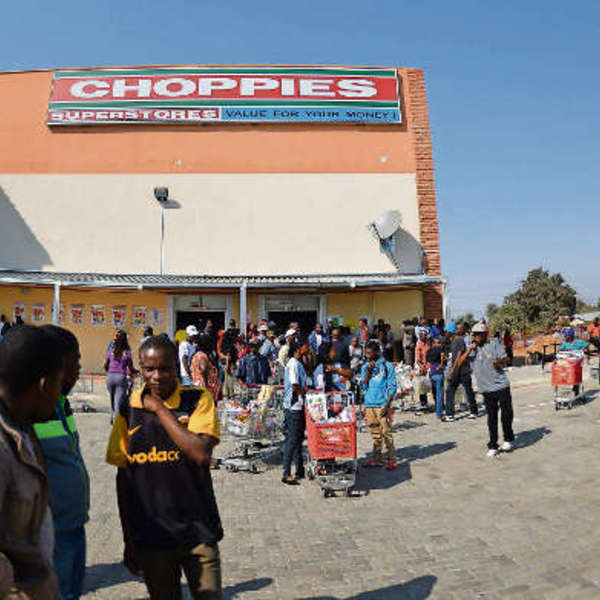Fair share: Choppies supermarket promises value for money