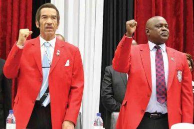 Botswana Presidents in bitter struggle for power
